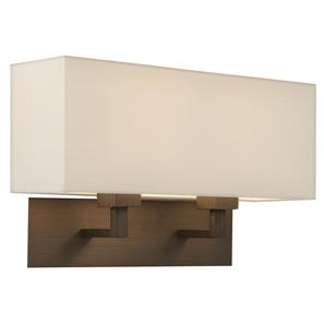 Park Lane Grande Twin 240V 2 x 60W Bronze