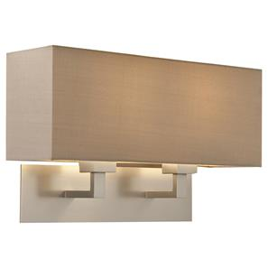 Park Lane Grande Twin 240V 60W Brushed Nickel