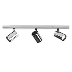 Aqua Triple Bar 240V 3 x 6W Chrome