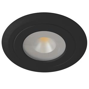 LED Diva 2 Spot 3000K Warm White 60° 24V 4W Black