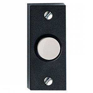 Wired Bell Push Black / White