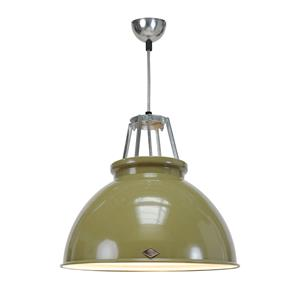 Titan Size 3 Pendant Light Green / White 150W