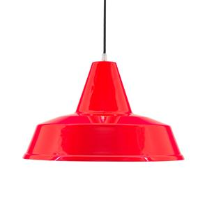 Factory Pendant Red 100W