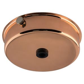 Dome Ceiling Rose Copper 85mm