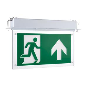 LED Emergency Exit Blade 2.5W Recessed