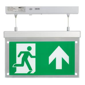 LED Emergency Exit Blade 2.5W Surfaced Hang