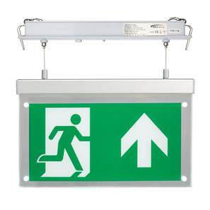 LED Emergency Exit Blade 2.5W Recessed Hang