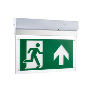 LED Emergency Exit Blade 2.5W Surfaced Wall/Ceiling
