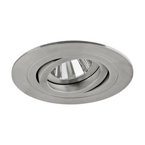 Smooth Adjustable Downlight  50W Stainless Steel