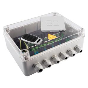Wise Scene Box Kit Clear Lid 240V 2000W (4 x 500W)