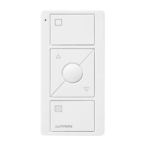 Lutron Pico Wireless 3 Button Raise/Lower and Shade Icons White