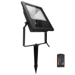 LED Black Floodlight Spike 240V 60W (=600W)