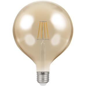LED Filament Antique Globe 125mm 2200K Dimmable ES 7.5W (=60W)