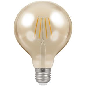 LED Filament Antique Globe 95mm 2200K Dimmable ES 5W (=40W)