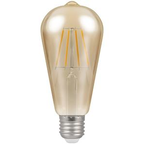 LED Cage Filament Antique 64mm 2200K ES 7.5W (=50W)