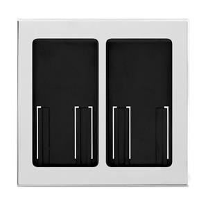 Lutron Pico Wireless Double Faceplate Bright Chrome