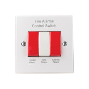 Alarm Control Switch 240V White