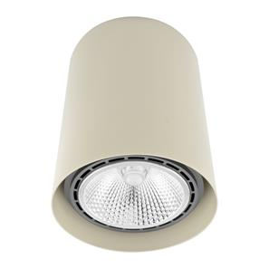 Can Downlight Large Pebble Grey 150W