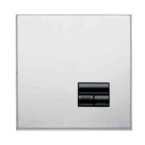 Rania Slave 1 Gang Dimmer Chrome 450W