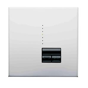 Rania IR 1 Gang Dimmer Chrome 450W