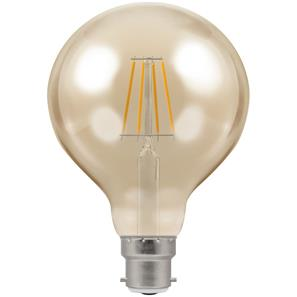 LED Filament Antique Globe 95mm 2200K Dimmable BC 5W (=40W)