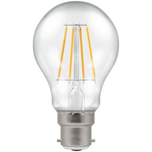 BC LED Clear 806lm (=60W) 240V 7.5W 2700K Warm White