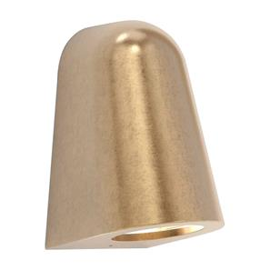Mast Coastal Exterior Wall Down Light 240V (7962) 6W Coastal Brass