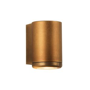 Jura Coastal Single Wall Light 240V (7806) Coastal Brass 35W