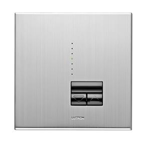 Rania Master 1 Gang Dimmer Satin Chrome 450W
