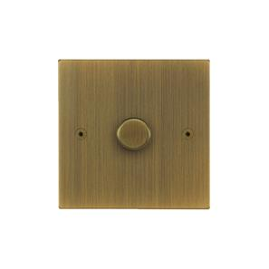 Horizon Dimmer Switch LED 1 gang 120 watt 2 way Antique Brass