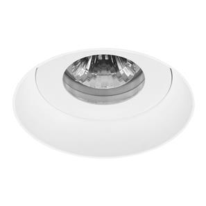 Trimless Connect Fire-Rated Fixed Clear Downlight IP55 240V White 50W