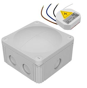 Wired Microwave Presence Detection Switch Kit 240V White 500w