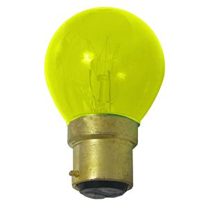 Bayonet Cap (Colour) Yellow