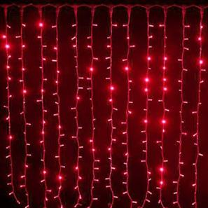 Strip Curtain (Without Controller) 24V Outdoor Red Green Cable