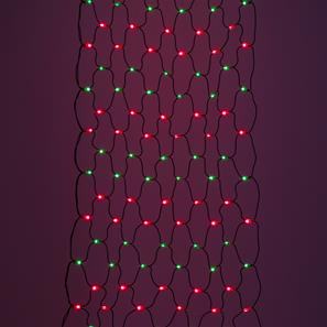 Sparkle Net, 176 Lights, Indoor, 240V Red / Green Black Cable