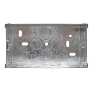 Double Plate Back Box Metal 35mm