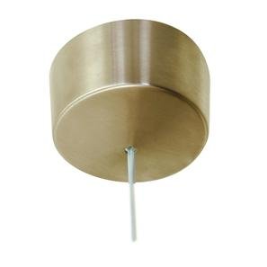 Pull Switch 1 gang ceiling pull Polished Brass