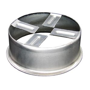 Plaster Ring for Invisible Range Metal 78mm