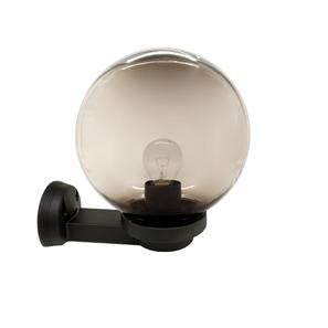 Small Globe Black 240V 60W Smoked