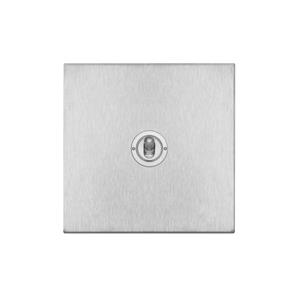 Dolly Switch 1 gang 20 amp double pole Satin Stainless Steel