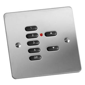 RAKO Face Plate 7 Button Mirror