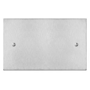 Blank Plate Double Plate Satin Stainless Steel