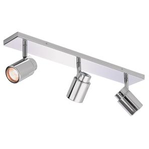 Como 3 Bar 240V 3 x 35W Polished Chrome