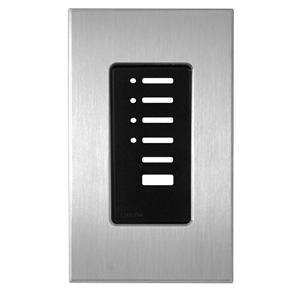 Lutron North American Wall Switch Cover Plate Satin Chrome