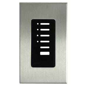 Lutron North American Wall Switch Cover Plate Satin Nickel