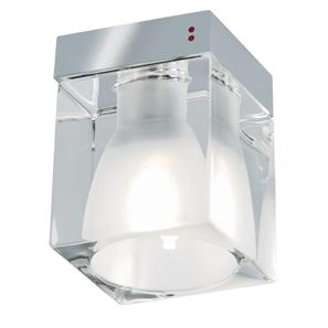 Cubetto Ceiling 240V 60W Crystal Glass