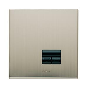Rania Slave 1 Gang Dimmer Satin Nickel 450W