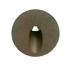 Battlestar Round Recessed 700mA 3W Bronze 3000K Warm White
