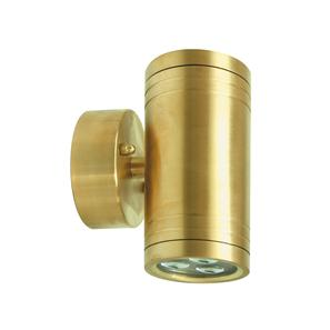 Battlestar Pillar 240V 6W Brass