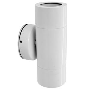 Smooth Pillar Light 240V White 2 x 35W